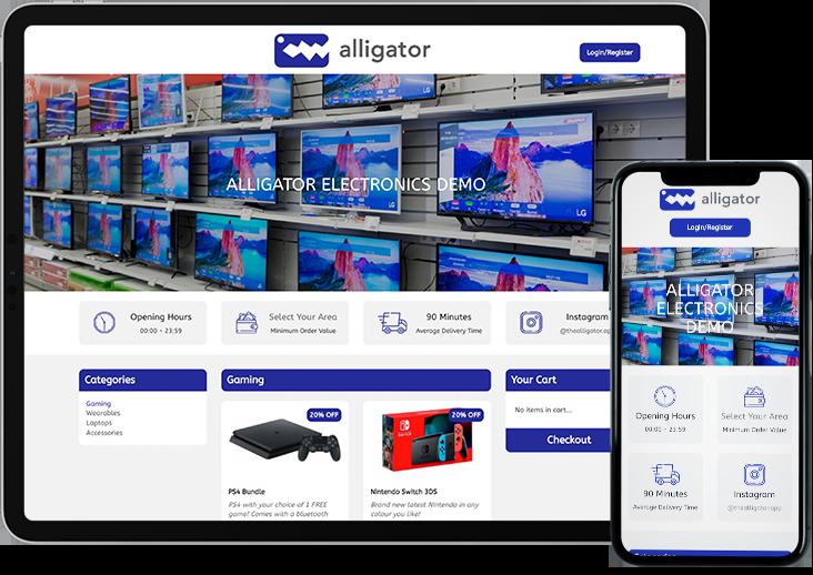 Alligator Electronics Demo Shop